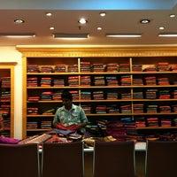 Photo taken at Kalyan Silks by Nora A. on 9/7/2011