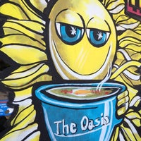 Photo taken at Oasis Cafe by Kat T. on 4/6/2012
