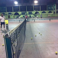 Photo taken at Lapangan Tenis Pati Unus by Hendri S. on 8/15/2011