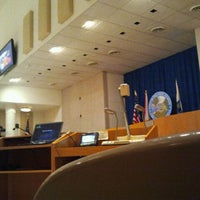 Photo taken at Council Chambers by Jamie Leigh on 12/12/2011