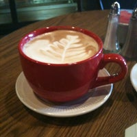 Photo taken at Coffee Company Cafe by Laura H. on 6/2/2011