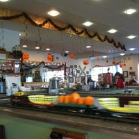Photo taken at 2 Toots Train Whistle Grill by Michelle L. on 10/6/2011