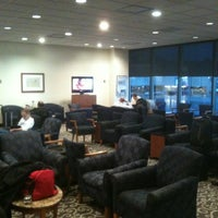 Photo taken at Delta Sky Club by Scott M. on 1/13/2012