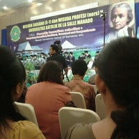 Photo taken at Manado Convention Center (MCC) by Wilson L. on 9/24/2011