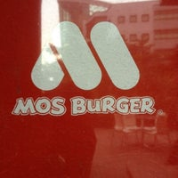 Photo taken at MOS Burger by Leonard on 6/11/2012