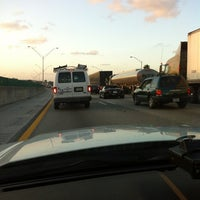 Photo taken at I-95 & Palmetto Park Rd by Mark P. on 3/27/2012