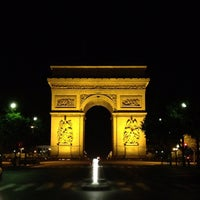 Photo taken at Place Charles de Gaulle by Karel U. on 8/16/2012
