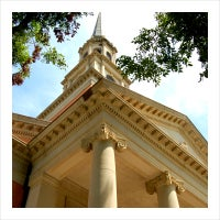 Photo taken at Robert Carr Chapel by TCU on 8/24/2011