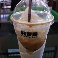 Photo taken at Hub Coffee Bar by KaeMania on 7/9/2011