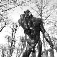 Photo taken at Jardin du Musée Rodin by champy s. on 12/31/2011