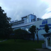 Photo taken at Bellevue Park Hotel Riga by Peter G. on 9/2/2011