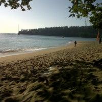 Photo taken at Pantai Senggigi by Albert P. on 7/24/2012