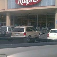 Photo taken at Ralphs by kumi m. on 4/12/2012