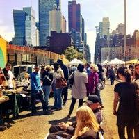 Photo taken at Hell's Kitchen Flea Market by Sasha C. on 4/15/2012