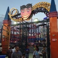 Photo taken at Scream Zone by Nadya B. on 8/18/2012