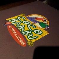 Photo taken at Coco Bambu Pizzaria & Cozinha by DjGui L. on 10/20/2011
