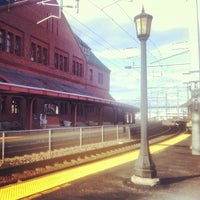 Photo taken at New London Union Station by Daniel G. on 2/17/2012