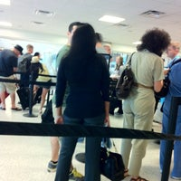 Photo taken at Terminal C Security Checkpoint by Sang L. on 8/31/2012