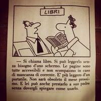 Photo taken at Biblioteca Rugantino by Dabliu on 5/7/2012
