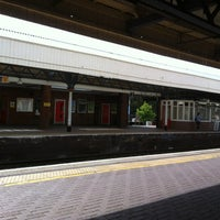 Photo taken at Kingston Railway Station (KNG) by Pierre C. on 9/6/2012