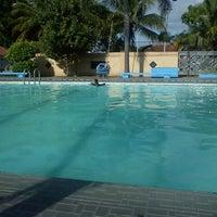 Photo taken at Swimming Pool area Mess Pangkalan TNI Al Malang Gajah & Banteng by Aniesnies p. on 6/2/2012