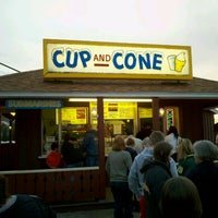 Photo taken at Cup and Cone by Nick A. on 3/26/2012