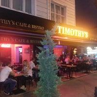Photo taken at Timothy's by mehmet Ç. on 7/30/2012