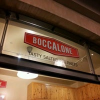 Photo taken at Boccalone Salumeria by Jen V. on 3/10/2012