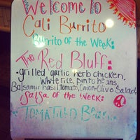 Photo taken at Cali Burrito by Brian F. on 3/14/2012