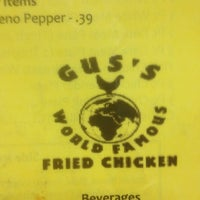 Photo taken at Gus' World Famous Fried Chicken by SOBBY on 5/1/2012