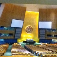 Photo taken at United Nations by Black I. on 6/18/2012