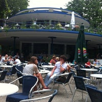Photo taken at 't Blauwe Theehuis by Thijn d. on 8/14/2012