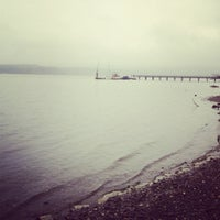 Photo taken at Sequim Bay State Park by Cristian R. on 5/28/2012