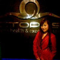 Photo taken at Octopus Men's Health and Spa by Memey M. on 3/4/2012
