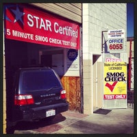 Photo taken at Discount Smog Check Center by Alf B. on 3/10/2013