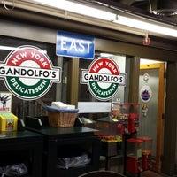 Photo taken at Gandolfo's by Monica F. on 10/8/2013
