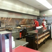 Photo taken at Five Guys by Nicole M. on 11/2/2012