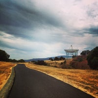 Photo taken at Stanford Dish Trail by Eric G. on 7/23/2013