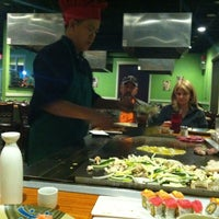 Photo taken at Osaka Japanese Steakhouse & Sushi Bar by Vanessa R. on 11/8/2012
