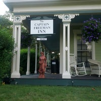 Photo taken at Captain Freeman Inn by Jason on 7/19/2013