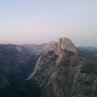 Photo taken at Glacier Point by Lijie R. on 8/4/2013