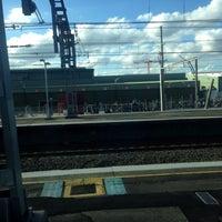Photo taken at Flemington Station by Ethan J. on 8/14/2016