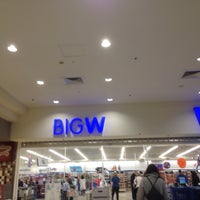 Photo taken at Big W by Ethan J. on 8/21/2016