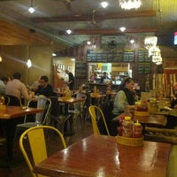 Photo taken at Bareburger by Larry M. on 10/26/2012