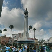 Photo taken at Crossroads of the World by Bryan A. on 1/13/2013