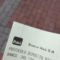 Photo taken at Itaú by Marco C. on 7/19/2016