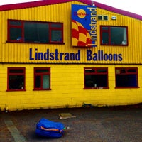 Photo taken at Lindstrand Hot Air Balloons by Ed C. on 9/18/2014