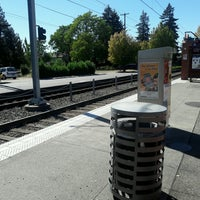 Photo taken at TriMet E 122nd Ave MAX Station by Chuff T. on 9/13/2016