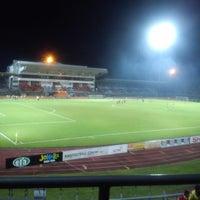 Photo taken at Stadium Negeri by Gary s. on 4/20/2013