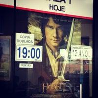 Photo taken at Cine Center Uniplex by Robson L. on 12/17/2012